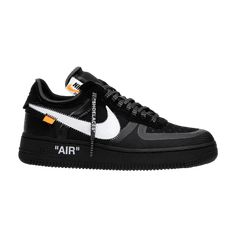 huge discount f434d c9340 OFF-WHITE x Air Force 1 Low  Black  - AO4606 001