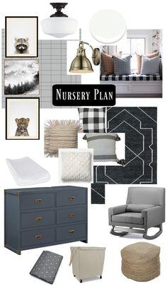 Nursery with DIY Win