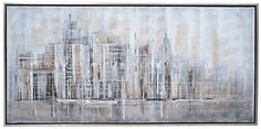 'Long Distance' Framed Original Painting on Canvas