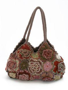 Sophie Digard Geranium Handbag : Ped Shoes - Order online or 866.700.SHOE (7463).