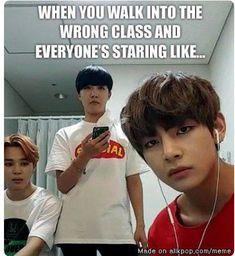 Kpop Memes - Quotes and Humor Bts Memes Hilarious, Bts Funny Videos, Funny Relatable Memes, Famous Meme, Bts Meme Faces, Kdrama Memes, Bts Book, School Memes, Bts Quotes