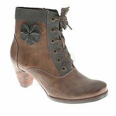 """L'Artiste by Spring Step """"Pinot"""" Ankle Boots in Taupe"""