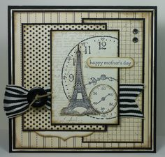 Lovely card that includes Eiffel Tower image (SU Artistic Etchings?)