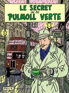 Le Secret de la Pullmoll Verte, Floc'h, 1980.
