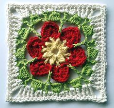 Flowers Abound CAL Part 8 Zahra Ravelry: Zahra pattern by Shelley Husband