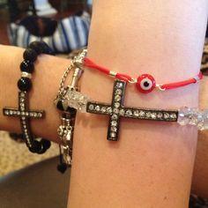 Cross Bracelets :)