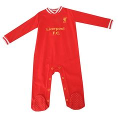 liverpool sleepsuit FC Liverpool Official Merchandise Available at www.itsmatchday.com
