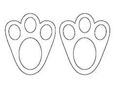 Resultado de imagen de rabbit pattern stencil