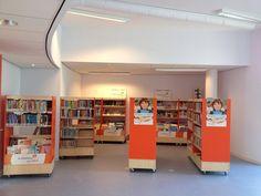 Bibliotheek op school in Hengelo (Overijssel)