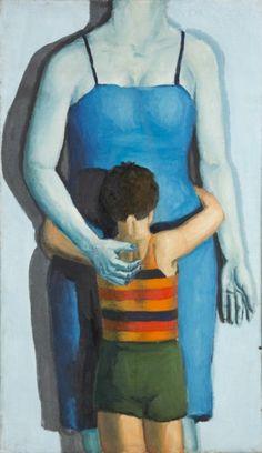 Andrzej Wroblewski - dziecko-z-zabita-matka - Child with Dead Mother But Is It Art, Portraits, Figure Painting, Painting Art, National Museum, I Love Cats, Art Museum, Arsenal, Modern Art