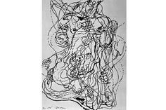 Andre Masson - Automatic Drawing, 1921 Website has a lot of other artists automatic drawings