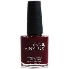Creative Nail Design Vinylux Bloodline Nail Polish (135.240 IDR) ❤ liked on Polyvore featuring beauty products, nail care, nail polish, no color, shiny nail polish and cnd nail polish