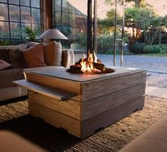 Building the perfect snug for cosy nights with a loved one or a glass of wine and a book? We got you covered Wood Burning Fire Pit, Diy Fire Pit, Fire Pits, Outdoor Furniture Sets, Outdoor Decor, Outdoor Fire, Foyer, Shabby Chic, Table