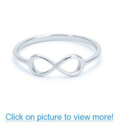 Heavy Casted 925 Sterling Silver Infinity Ring-Centered High Quality CZ Stone Available in Sizes Silver Infinity Ring, Infinity Rings, Infinity Jewelry, Anchor Rings, Jewelry Shop, Heart Ring, It Cast, Pure Products, Sterling Silver