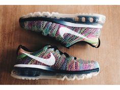 Nike Flyknit Air Max Multicolor.