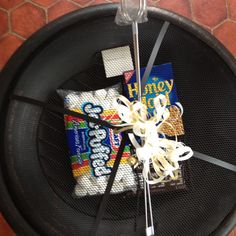 what a cute gift . . . Fire Pit & S'mores!