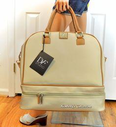 DIANE VON FURSTENBERG Multi-Function Weekender Travel Carry On Tote Bag NWT  #DianeVonFurstenberg #WeekenderBag #CarryOnBag