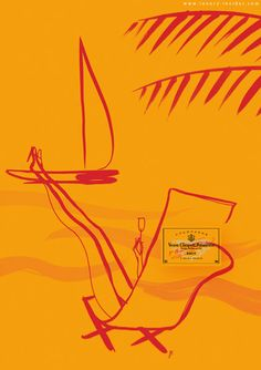 By Florence Deyga & collaboration with Veuve Clicquot champagne, 2 0 0 Summer Chill Out.