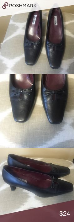 Nine & Company Black Leather Pumps Size 7.5M Excellent condition! Nine & Company Black Leather Pumps Size 7.5M With 2.25 Heels. Nine & Co Shoes Heels