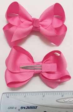 67fba6d73cfd Set of 20 - 3 inch baby hair bow.. 3 inch baby girls bow sets - baby girls  bow set - 3