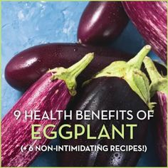 From improving your memory to helping with weight loss, eggplants have so many health benefits! Try these recipes and tricks to include them in your diet. Nutritional Value Of Eggplant, Eggplant Health Benefits, Eating Raw, Healthy Eating, Clean Eating, Healthy Food, Carbs In Eggs, Ways To Cook Eggplant