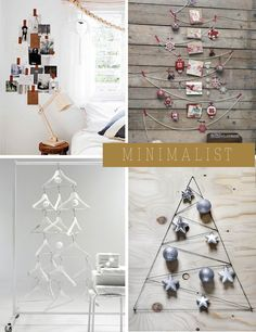 Yes, it's time for a round up of the best eco-friendly and DIY christmas tree I hunted for you throughout the web. Many of you requested a 2012, sequel edition, to the previous 2011 one. So, without further ado, here are the nominees for best 2012 DIY holiday tree award. Il est temps de vous...