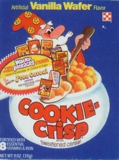 Vintage Cereal Boxes : I remember this one!