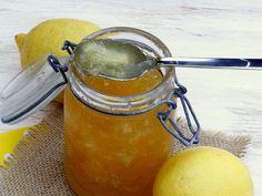 Mermelada de limón y jengibre