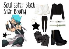 """""""Black Star Bound"""" by athena-parthenos ❤ liked on Polyvore featuring art"""