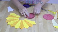 Dresden Plate Quilt Block Tutorial: See how easy it is to make this traditional showstopper.