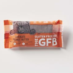 The Gluten Free Bar: Chocolate Peanut Butter Simple, non-GMO ingredients: Virginia peanuts, organic brown rice syrup, organic dates, complete protein blend (brown rice protein, pea protein), organic dark chocolate (organic chocolate liquor, organic cane sugar, organic cocoa butter), organic agave nectar, organic crisped brown rice, golden flaxseed, vanilla extract, cocoa powder, sea salt. contains peanuts.