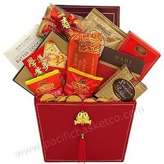 The Best Chinese New Year Gift Baskets Ideas With Mandarin Orange