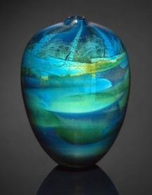 nick leonoff art   Fred Kaemmer   Glass   2013 Philadelphia Museum of Art Craft Show