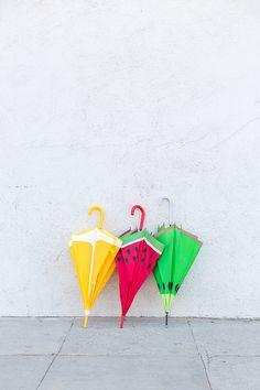 DIY Fruit Slice Umbrellas | Studio DIY®