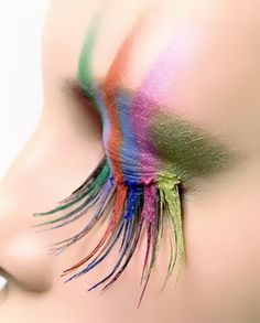 Funky Eye Make up - Find Beauty Tips & Tricks For Woman and Learn Health Issues Make Up Art, Eye Make Up, How To Make, Skin Makeup, Beauty Makeup, Eyebrow Makeup, Eyeshadow Makeup, Mac Makeup Looks, Makeup Stuff