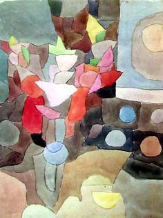 paul klee.   One of my favorites. I have many Klee favourites.  ( ; > )