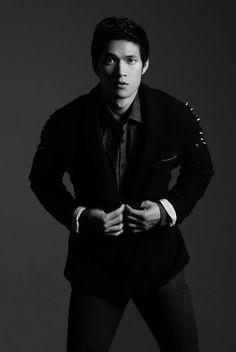 Harry Shum Jr. Poses for Glamoholic Magazine July 2012