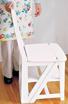 Chair Ladder - Converts to a ladder!