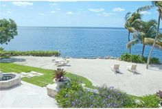 your own private beach at 150 Arvida Pw, Gables Estates, Coral Gables, FL @ONEsir