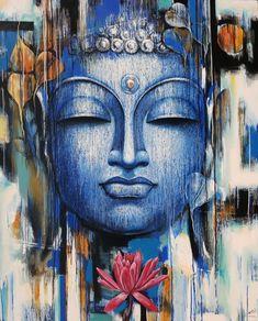 Dorable Acrylic Painting On Canvas Gautama Buddha Painting Vishal Phasale Artzolo regarding [keyword Art Buddha, Buddha Artwork, Buddha Drawing, Buddha Canvas, Religious Paintings, Indian Art Paintings, Spiritual Paintings, Budha Painting, Buddha Wall Painting