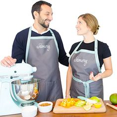 Premium Apron with big Pockets Neutral colors for Men and Women Adjustable Neck One Size fits all Small Medium Large and XL Ideal for Everyday Cooking Durable Resistant Kitchen Professional >>> You can get additional details at the image link.