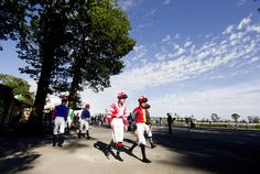 Jockeys head to the parade ring for the second Gowran Park Photo Patrick McCann Park Photos, Race Day, Wonderful Images, Irish, Two By Two, Street View, Racing, Irish Language, Ireland