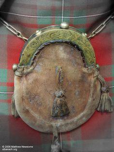1729 sporran owned by Sir Malcolm MacGreggor