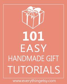 101 Easy Handmade Gifts on EverythingEtsy