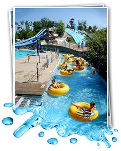 Enchanted Forest Water Safari, New Yorks Largest Water Theme Park, Old Forge NY, in Adirondacks
