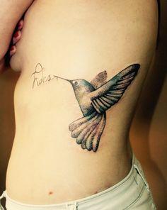 Tattoo Beija-flor e a fé