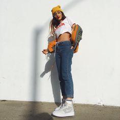 "16.5k Likes, 149 Comments - Hailey Sani (@haileysani) on Instagram: ""girl power bc #forceisfemale @nikesportswear @nike"""