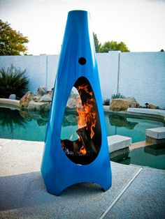 Urban GasFire Chimenea by ModFire | Flickr - Photo Sharing!