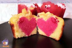 Muffin del cuore   ricetta dell'amore, facile e veloce