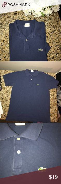 Authentic Lacoste Polo Shirt! Women's Lacoste Polo Shirt, Excellent Worn Condition!! Lacoste Tops